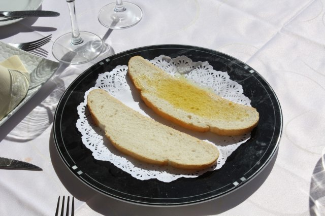 Rebanada de Pan con Aceite