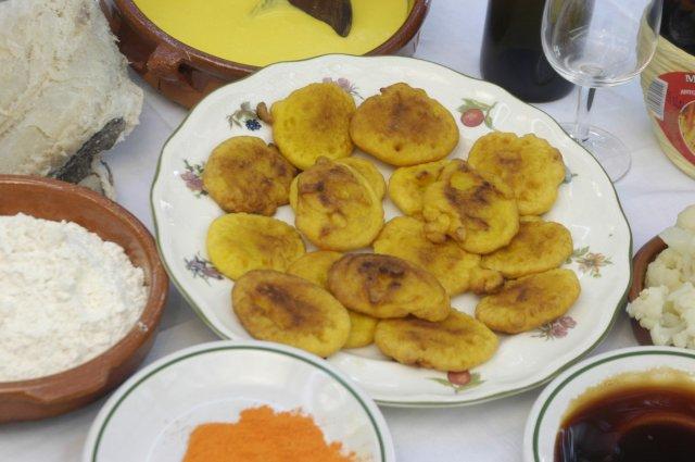 Tortitas con Miel de Cana
