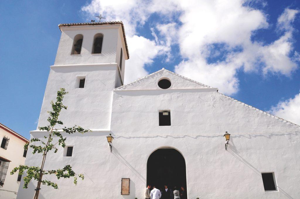 Alfarnate. Iglesia de Santa Ana