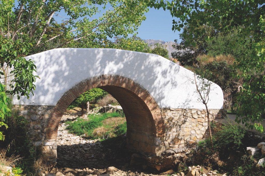 Alfarnate Puente Arroyo del Palancar