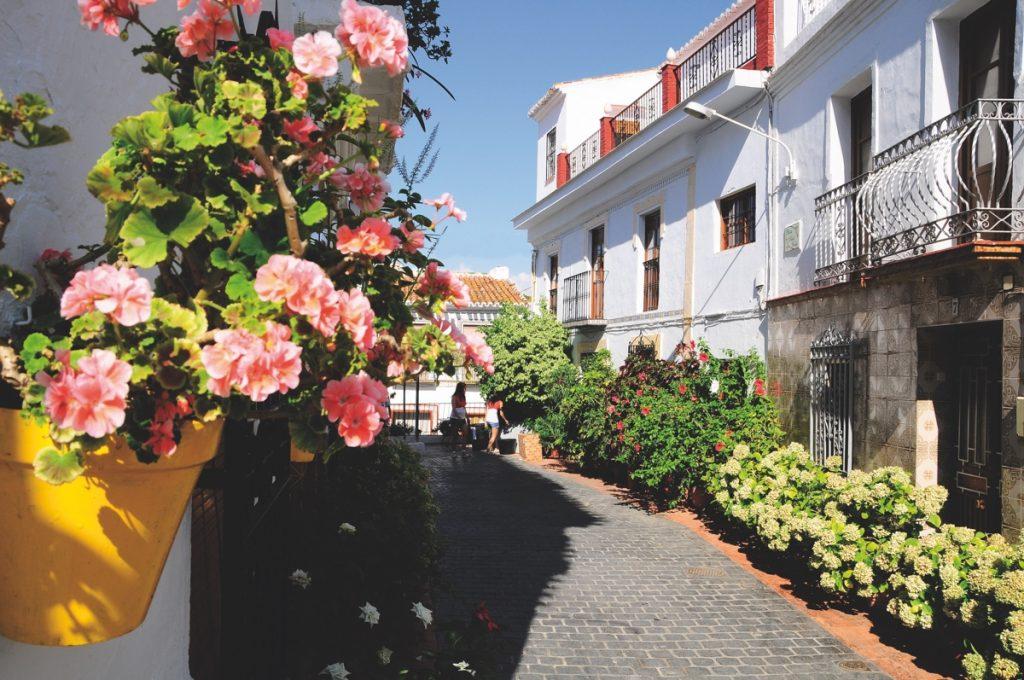 Almáchar calle Sevilla