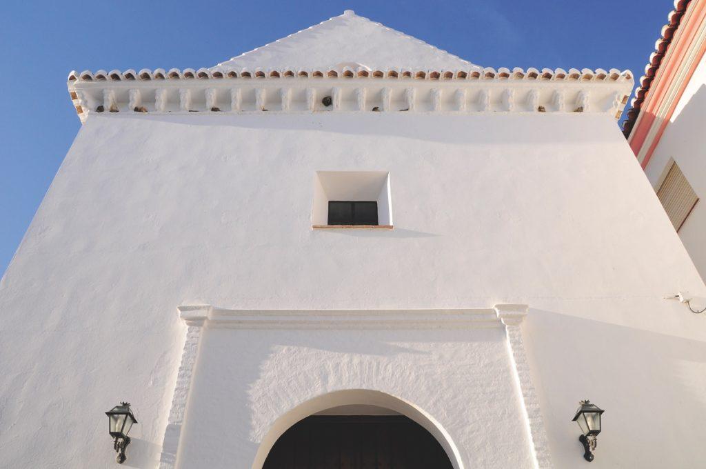 Archez. Fachada Iglesia Ntra.Sra. de la Encarnación