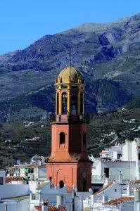 Torre de la igelsia de la Asunción (Cómpeta)