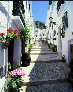 Calle del Barrio Morisco (Frigiliana)