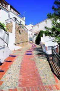 Calle típica (Cútar)