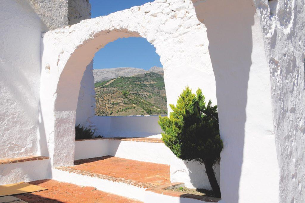 Canillas de Albaidas (vista Sª Tejeda desde ermita)