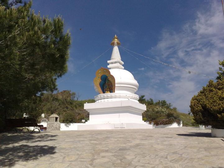 Estupa budista (El Trapiche)