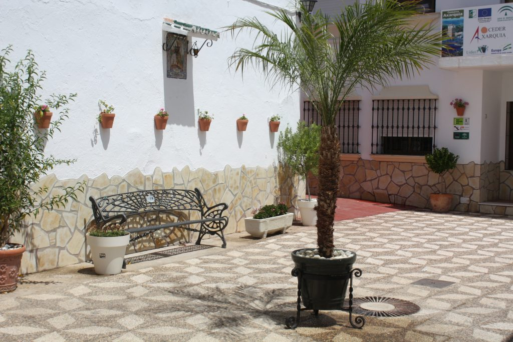 La Viñuela -  detalle calle