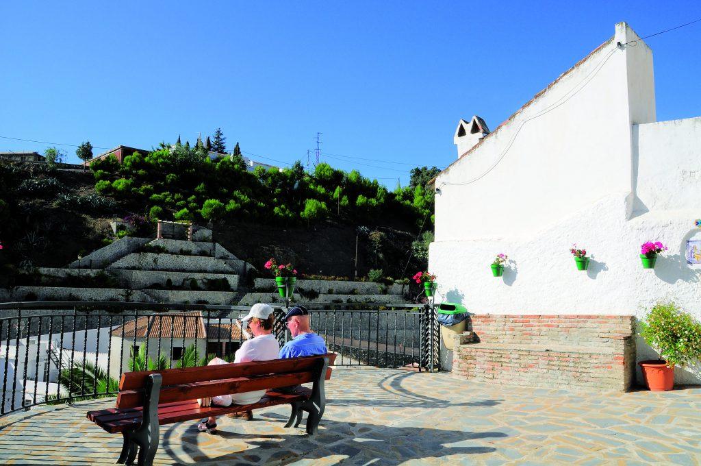 Mirador Plaza de la Iglesia (Salares)
