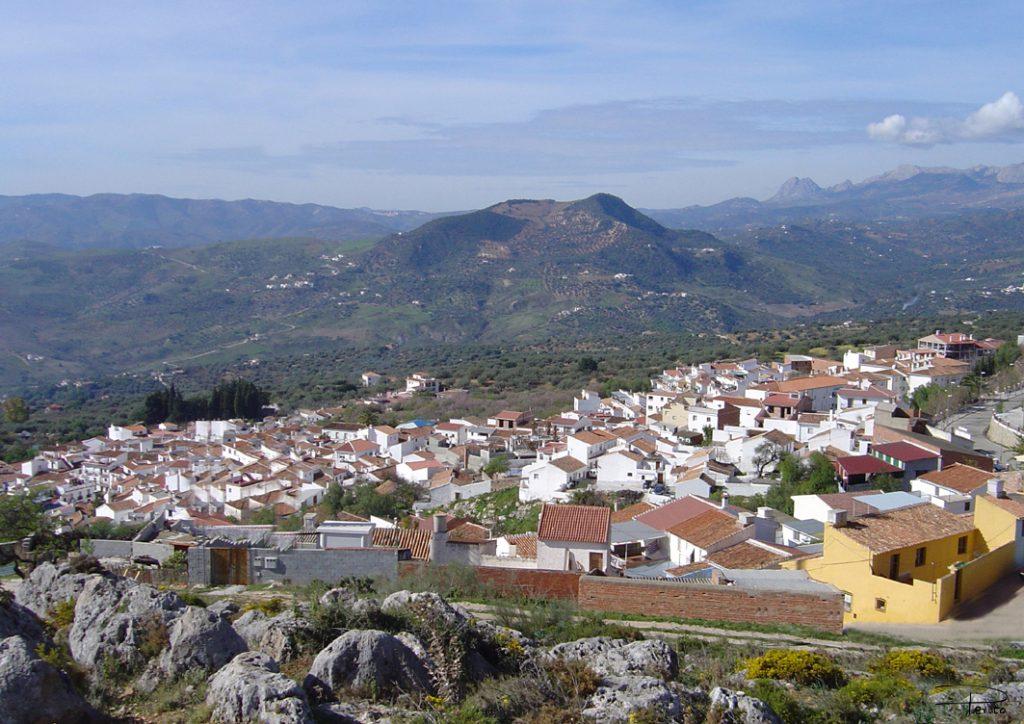 Periana desde el Cerro
