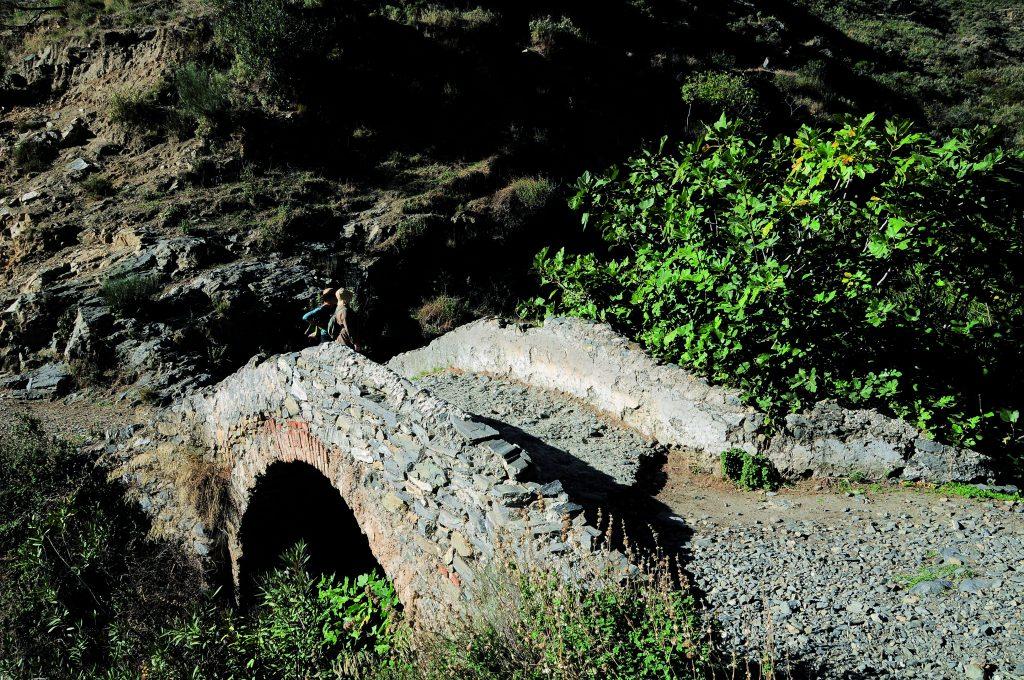 Puente Romano. Sedella