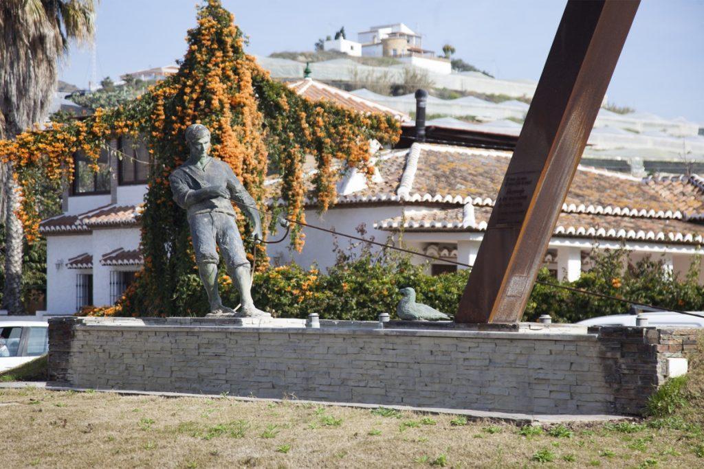 Tiro de la traya - El Morche (Torrox)