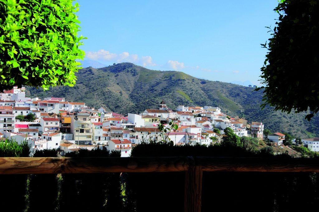 Vista general de Moclinejo