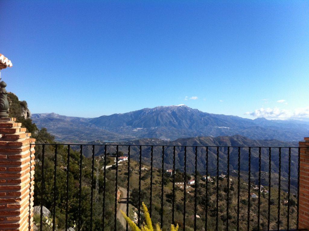 Vistas de Sierra Tejeda