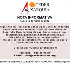 Nota Informativa CEDER 16-03